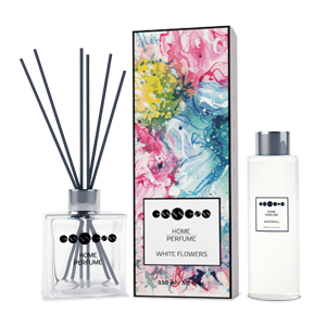 Home Perfume White Flowers - seti