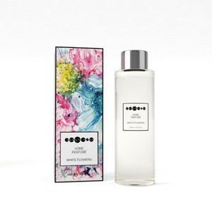 Home Perfume White Flowers - refill
