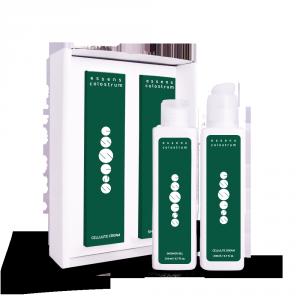 Set sprchový gél a krém proti celulitíde s colostrom