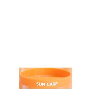 Silikonový náramek - Sun Care