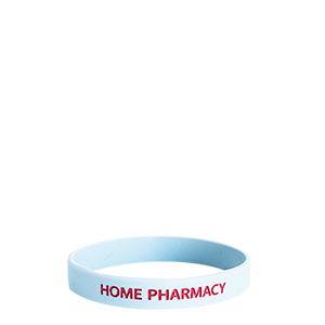 Bracelet en silicone - Home Pharmacy