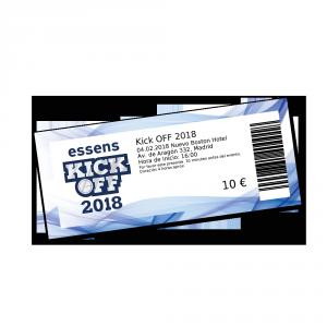 Kick OFF 2018 Madrid e-ticket