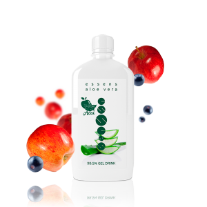 Aloe Vera 99.5% gel drink - apple + acai - food supplement