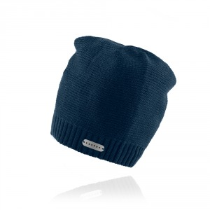 Men`s knitted hat ESSENS - dark blue