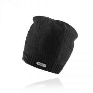Men`s knitted hat ESSENS - dark grey