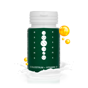 Colostrum + Vitamin D 60 capsules - food supplement