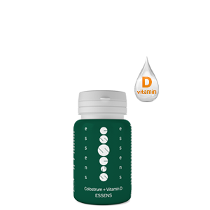 Colostrum + Vitamin D 60 capsules