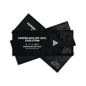 E-TICKET ESSENS Kick OFF 2021 EVOLUTION