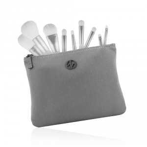 Cosmetic Brush set white