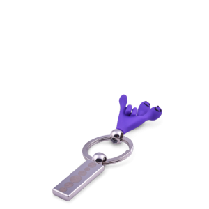 ESSENS Key ring Rough Violet
