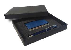 Business card holder & ball pen