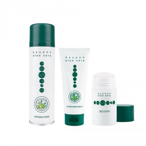 ESSENS Set Schiuma da Barba all`Aloe Vera