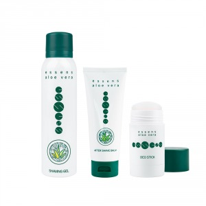 Set de gel para afeitar de Aloe Vera ESSENS
