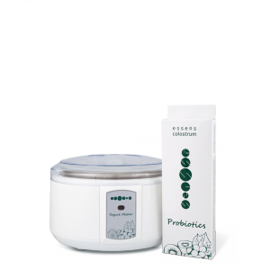 Colostrum Yoghurt Maker + Probiotics set