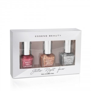 Glitter Night Fever - nail lacquer trio