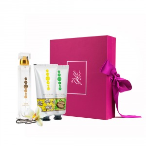 Hand and foot care SET with perfume woman