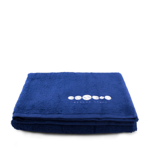 ESSENS Beach towel dark blue