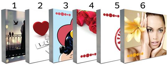 Valentýnské kazety dámské